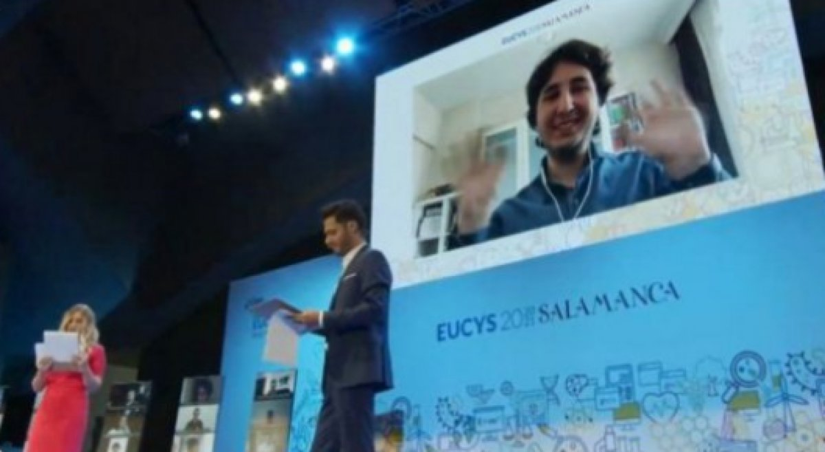 AB Genç Bilim İnsanları Yarışması nda Türkiye birinci oldu #2