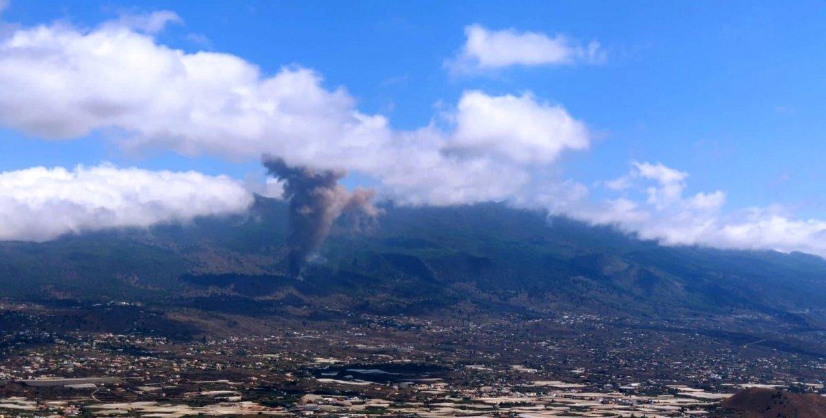 Kanarya Adaları nda lavlar püskürünce 5 bin kişi tahliye edildi #1