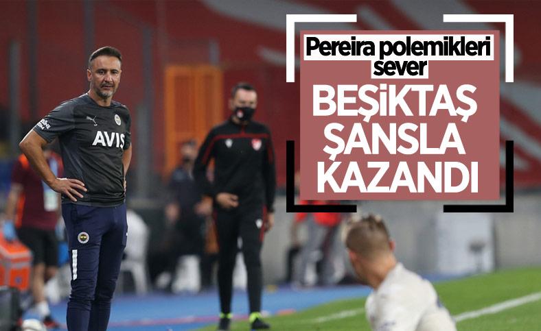 Vitor Pereira: Beşiktaş maçı çevirdi ama şansa kazandı