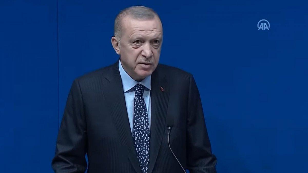 Cumhurbaşkanı Erdoğan, New York'taki Yeni Türkevi Binasında  #1