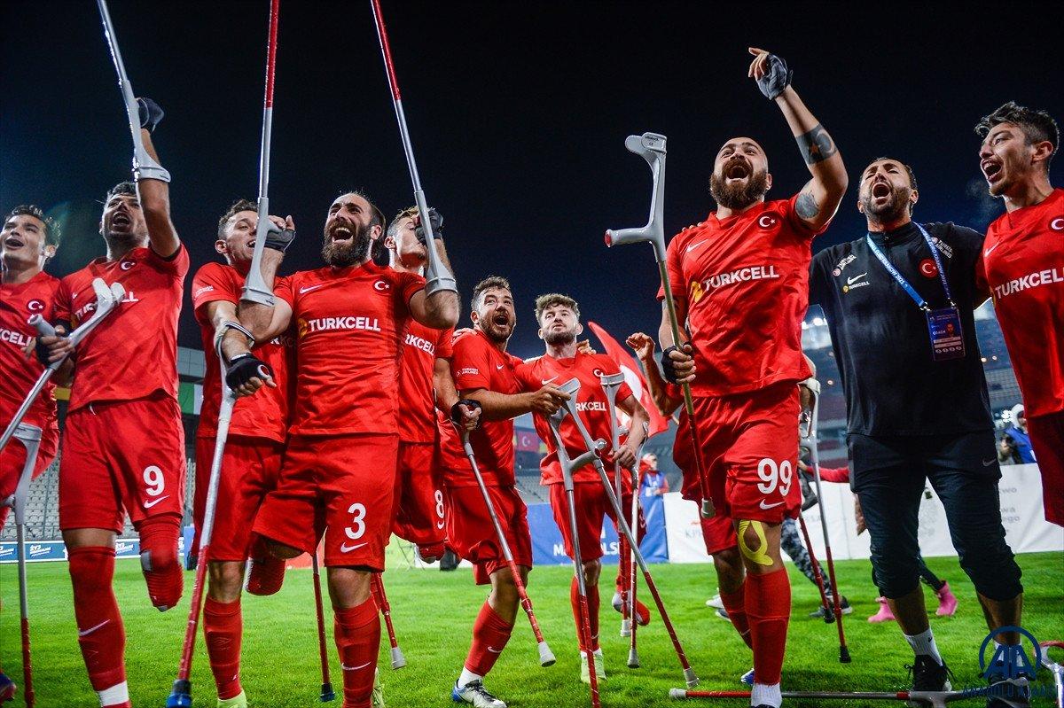 Süleyman Soylu, Ampute Futbol Milli Takımı sporcularını tebrik etti #3
