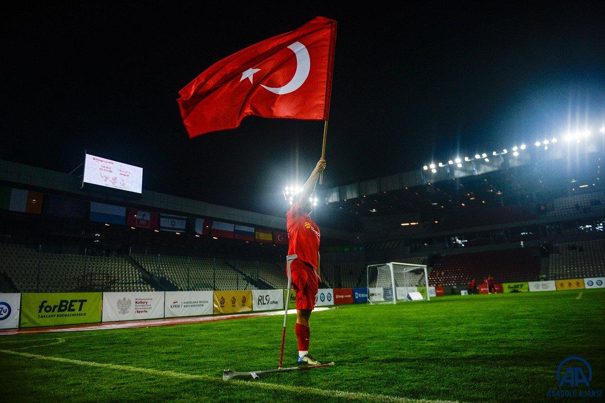 Süleyman Soylu, Ampute Futbol Milli Takımı sporcularını tebrik etti #5