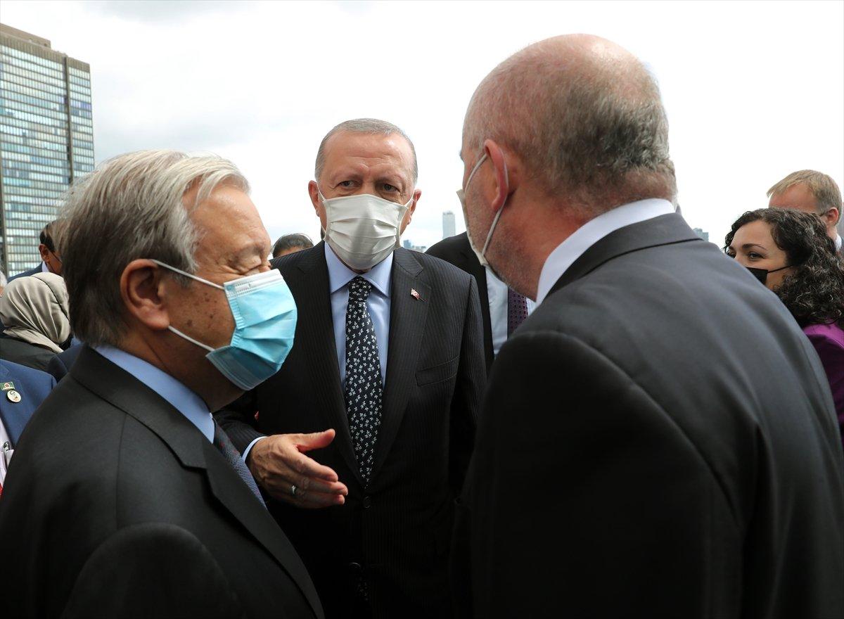 Antonio Guterres, Türkevi açılışında yapılan duaye el açtı #3