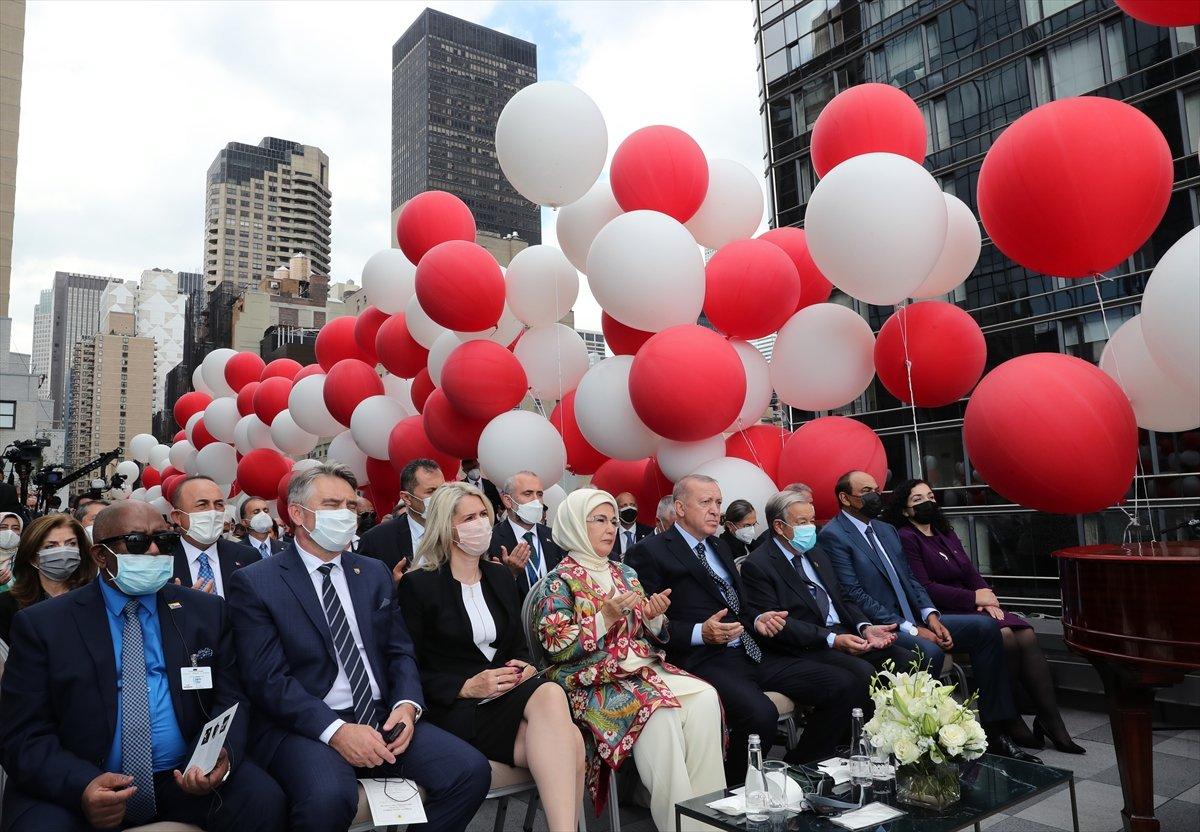 Antonio Guterres, Türkevi açılışında yapılan duaye el açtı #1