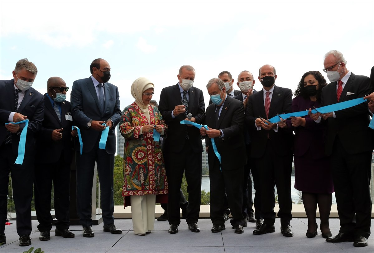 Antonio Guterres, Türkevi açılışında yapılan duaye el açtı #4
