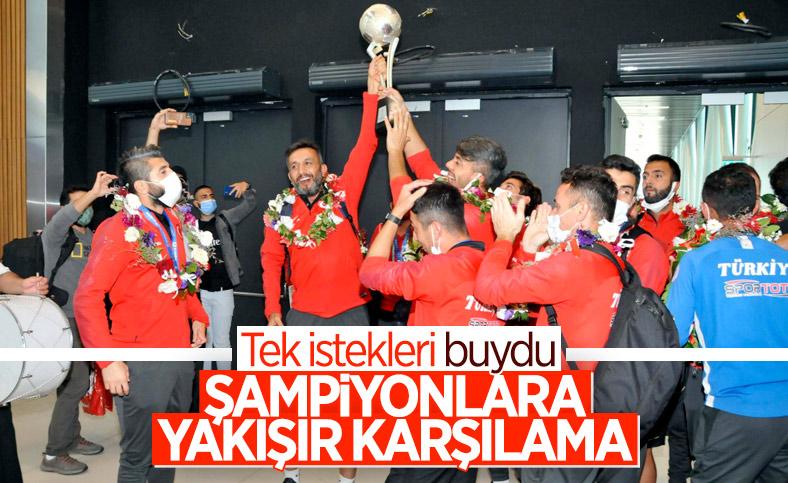 Avrupa şampiyonu Ampute Milli Takımımız İstanbul'da