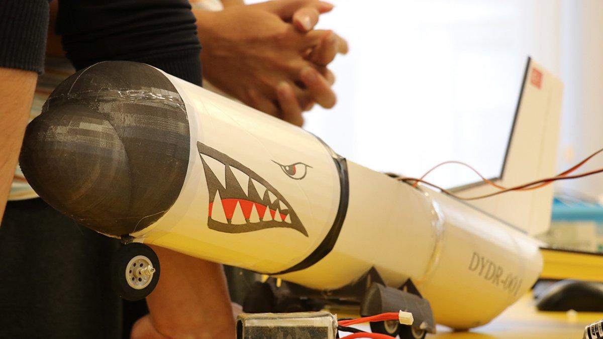Yalova da öğrenciler, afetlere karşı yapay zekalı model uçak geliştirdi #3