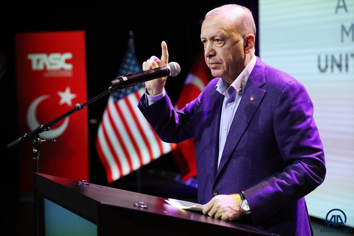 Cumhurbaşkanı Erdoğan dan ABD de açıklamalar #12