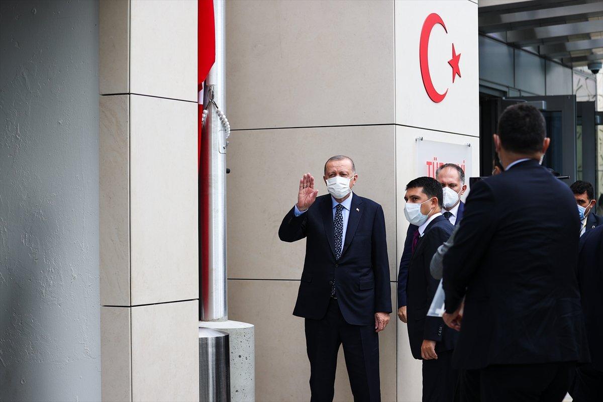 Cumhurbaşkanı Erdoğan, New York ta Türkevi Binası nın açılışı töreninde  #2