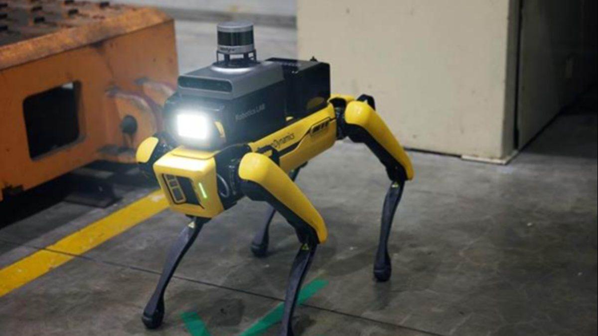 Hyundainin robot köpeği Spot, Kia fabrikasında işe başladı