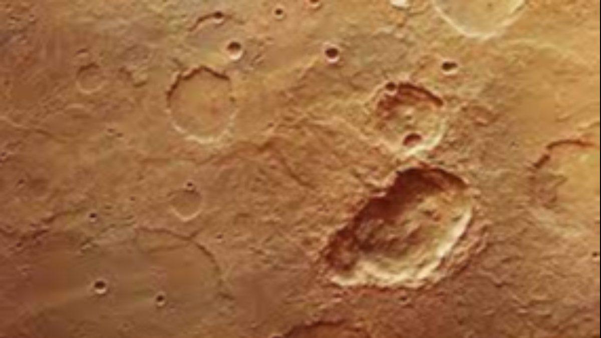 Marstaki kraterlerin sırrı çözüldü: Yanardağlar