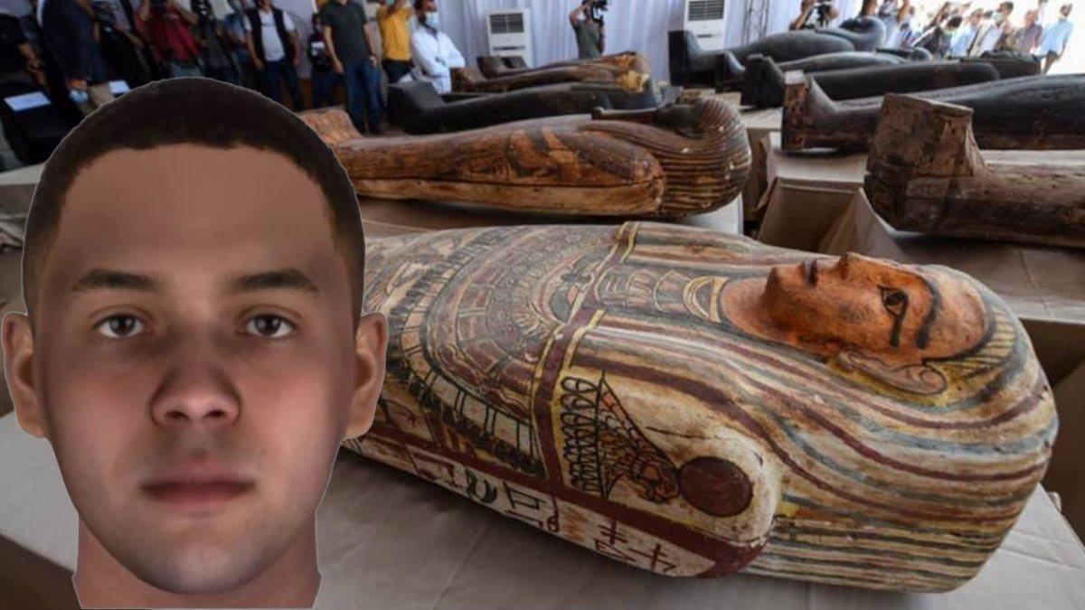 Bilim insanları, Mısırlı mumyaların yüzlerini canlandırdı