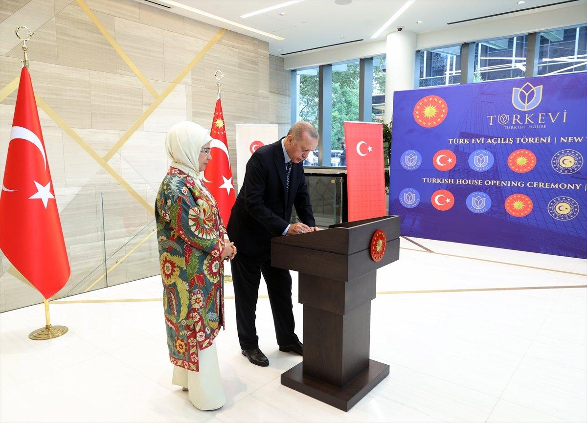 Cumhurbaşkanı Erdoğan, New York ta Türkevi Binası nın açılışı töreninde  #5