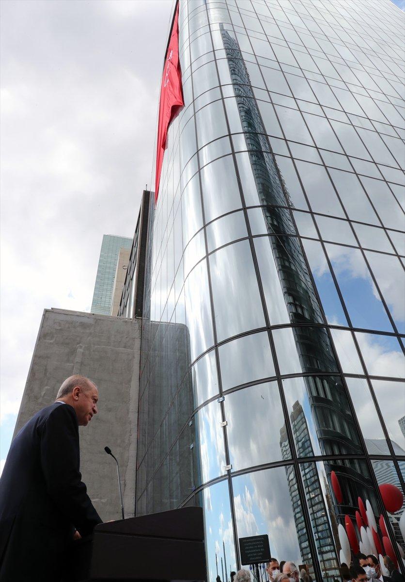 Cumhurbaşkanı Erdoğan, New York ta Türkevi Binası nın açılışı töreninde  #3