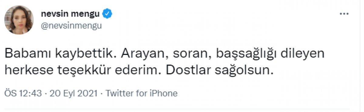 Şahin Mengü hayatını kaybetti #1