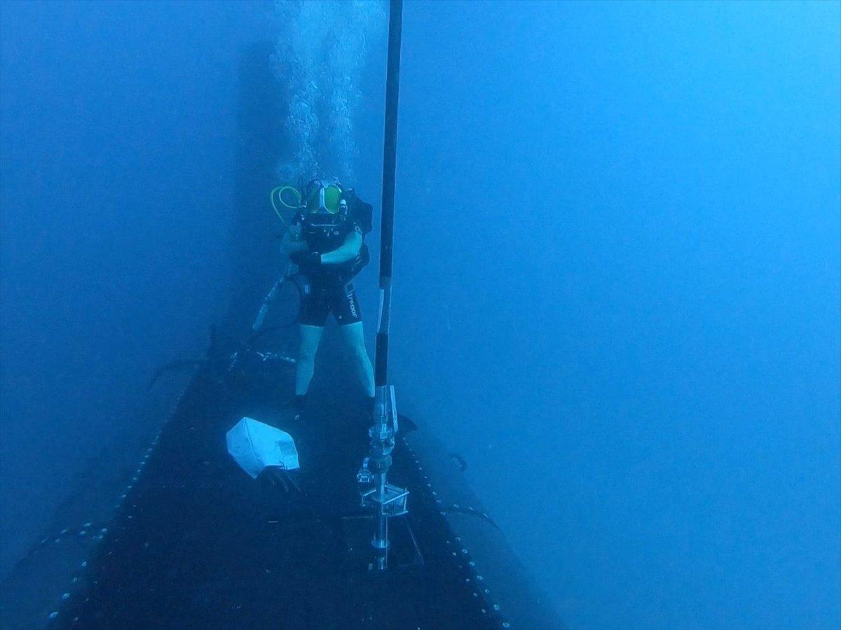 Ege de nefes kesen Kurtaran 2021 Denizaltı Arama Kurtarma Tatbikatı #8