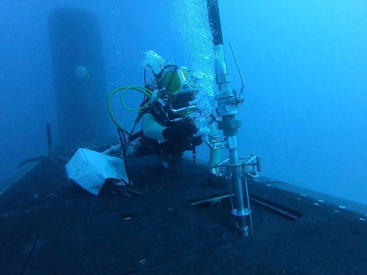 Ege de nefes kesen Kurtaran 2021 Denizaltı Arama Kurtarma Tatbikatı #7