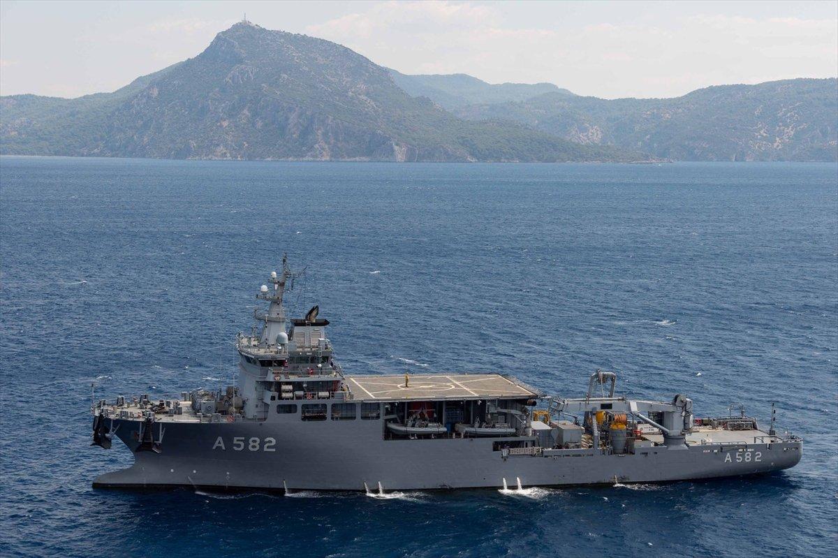 Ege de nefes kesen Kurtaran 2021 Denizaltı Arama Kurtarma Tatbikatı #4