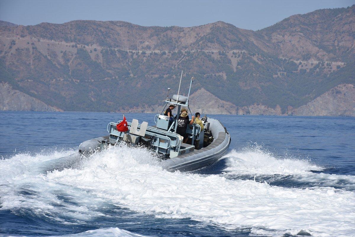 Ege de nefes kesen Kurtaran 2021 Denizaltı Arama Kurtarma Tatbikatı #10