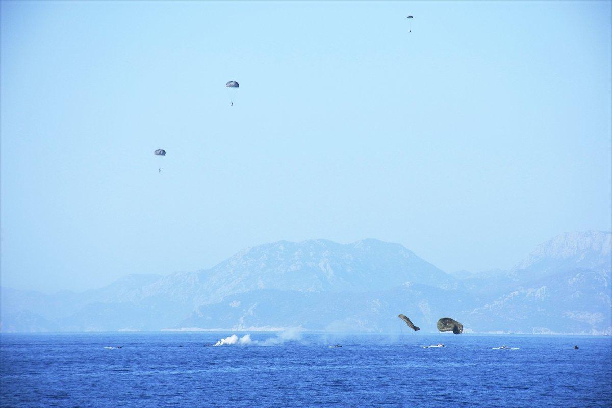 Ege de nefes kesen Kurtaran 2021 Denizaltı Arama Kurtarma Tatbikatı #18