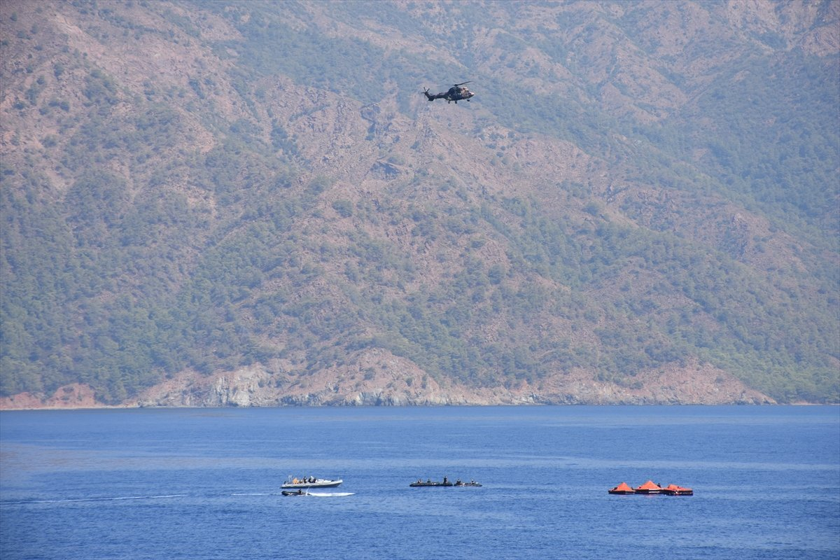 Ege de nefes kesen Kurtaran 2021 Denizaltı Arama Kurtarma Tatbikatı #16