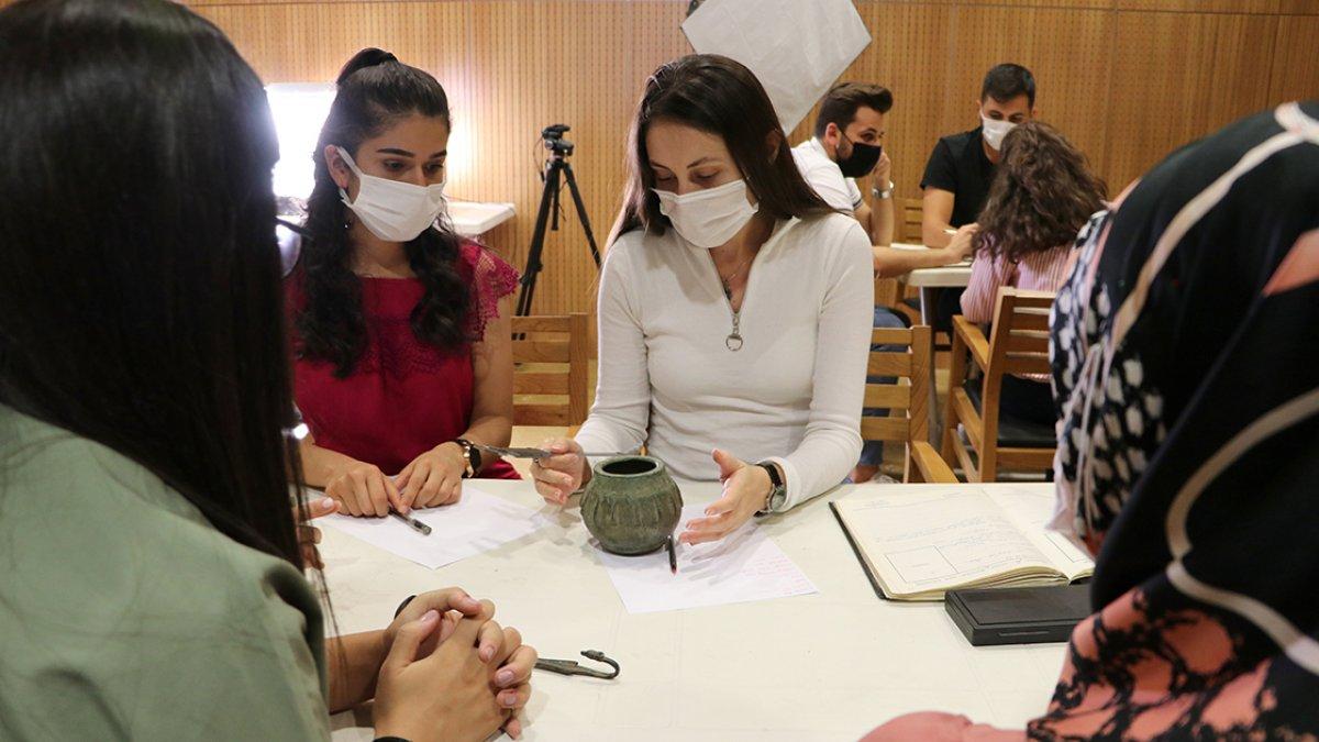 Gönüllü gençler Zeugma da müzecilik deneyimi kazanıyor #2