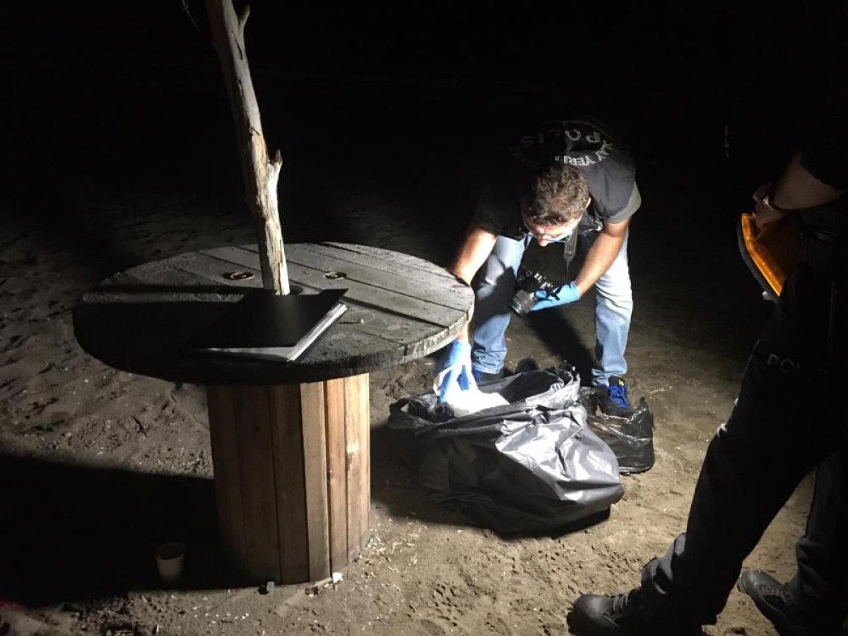 Zonguldak ta denize giren gençlerden biri kurtarıldı, biri kayıp #6