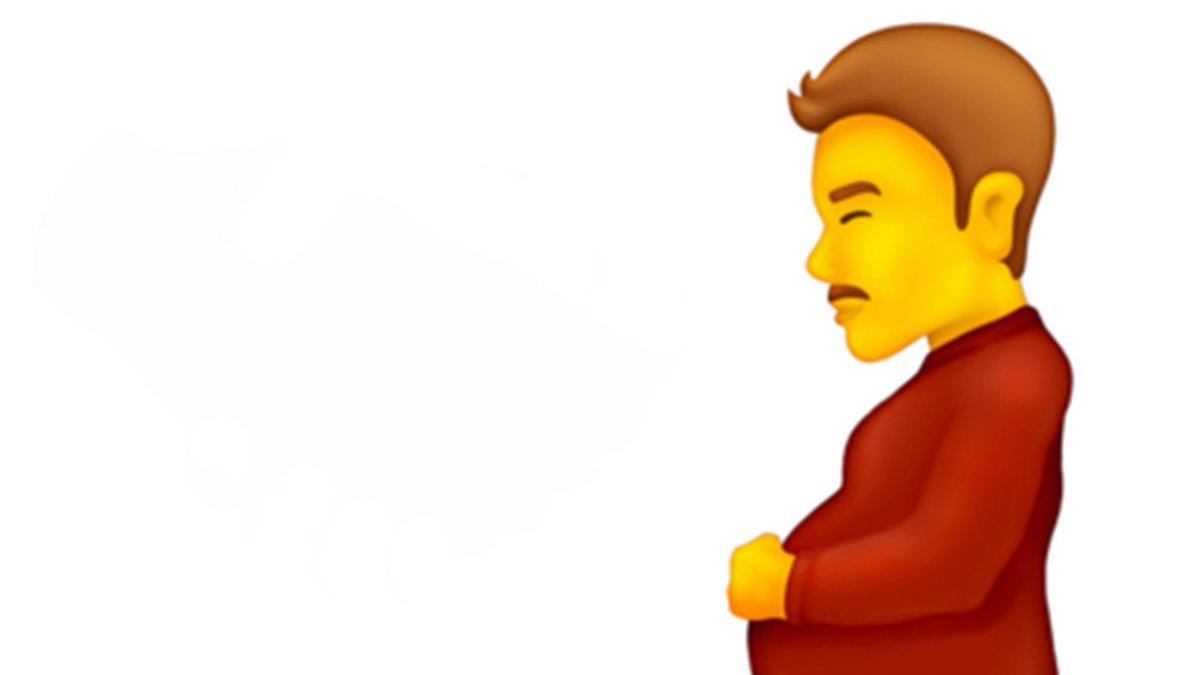 Unicode Konsorsiyumu hamile erkek emojisinin geleceğini söyledi #1