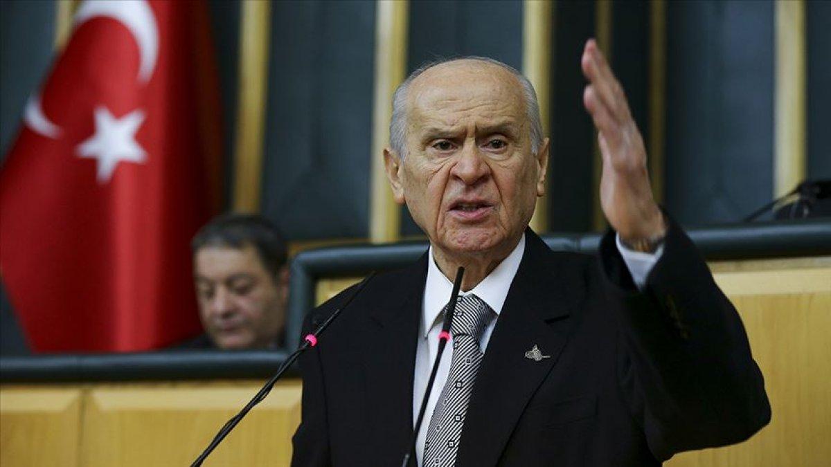 Devlet Bahçeli: HDP yi meşru organ görmek, PKK yı muhatap almaktır #1