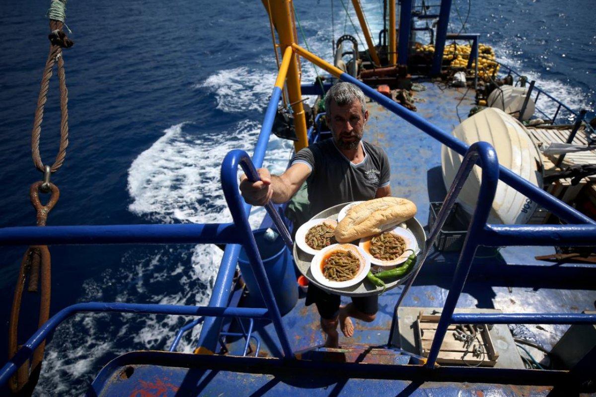 Hataylı balıkçıların av mesaisi başladı #4
