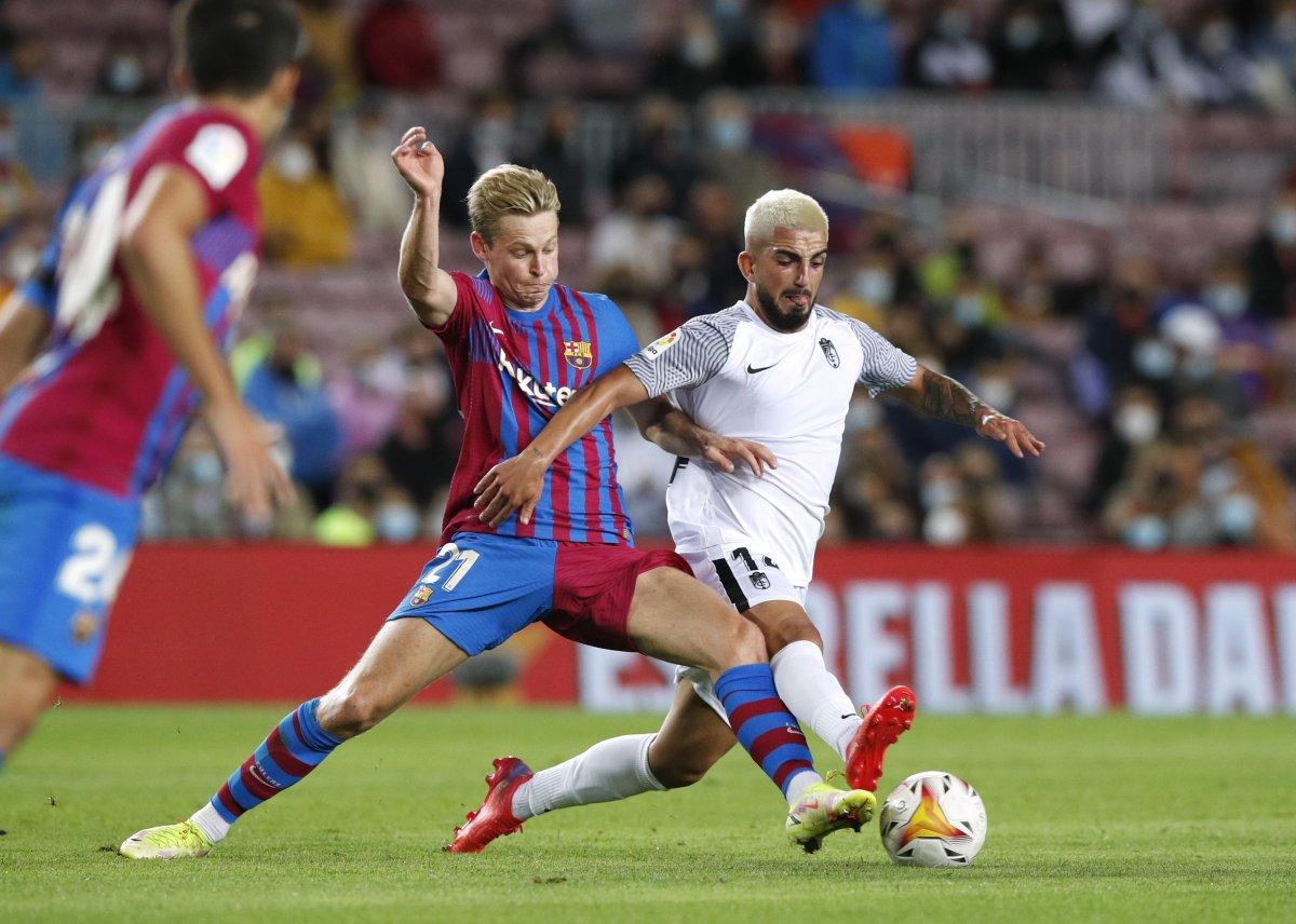 Barcelona son dakikada attığı golle beraberliğe razı oldu #2