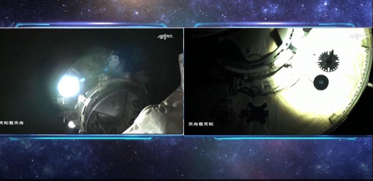 Çin, Tianzhou-3 kargo mekiğini kendi uzay istasyonuna gönderdi #3