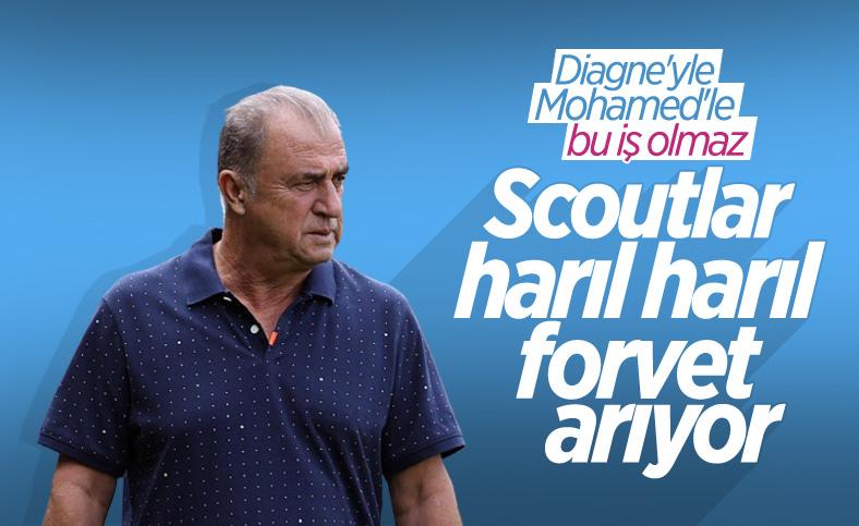 Fatih Terim'den scoutlara forvet talimatı