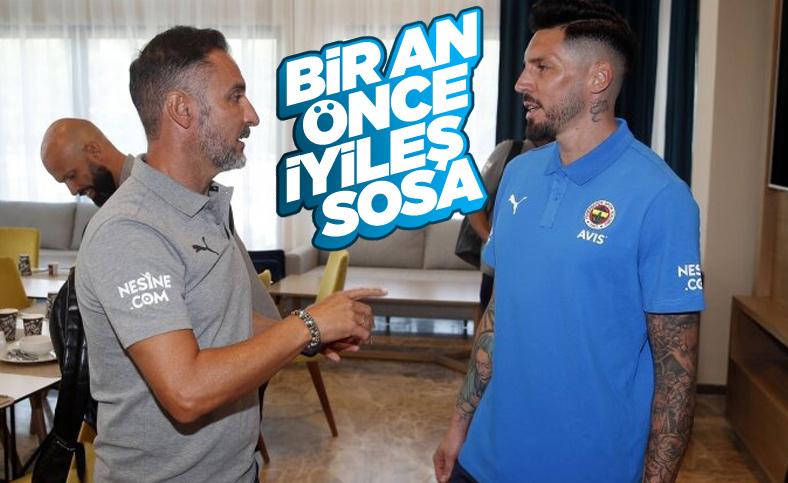 Fenerbahçe'de Jose Sosa umudu