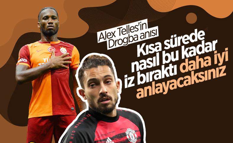 Alex Telles'ten Didier Drogba anısı