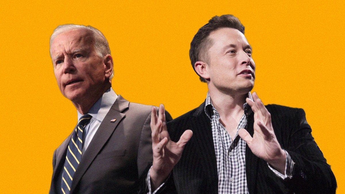 Elon Musktan Joe Bidena gönderme: O hala uyuyor