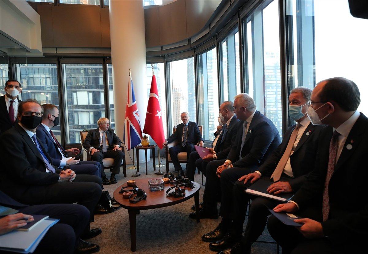Cumhurbaşkanı Erdoğan, Boris Johnson u kabul etti #2
