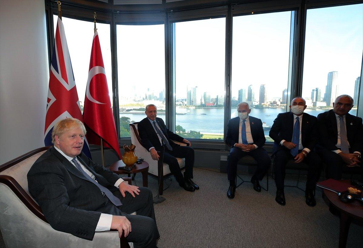 Cumhurbaşkanı Erdoğan, Boris Johnson u kabul etti #4