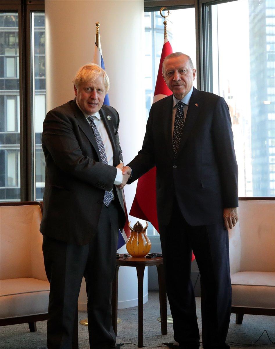 Cumhurbaşkanı Erdoğan, Boris Johnson u kabul etti #3