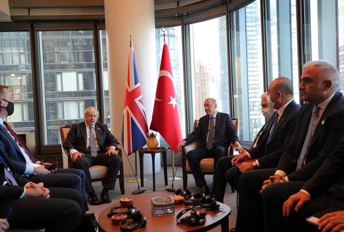 Cumhurbaşkanı Erdoğan, Boris Johnson u kabul etti #1