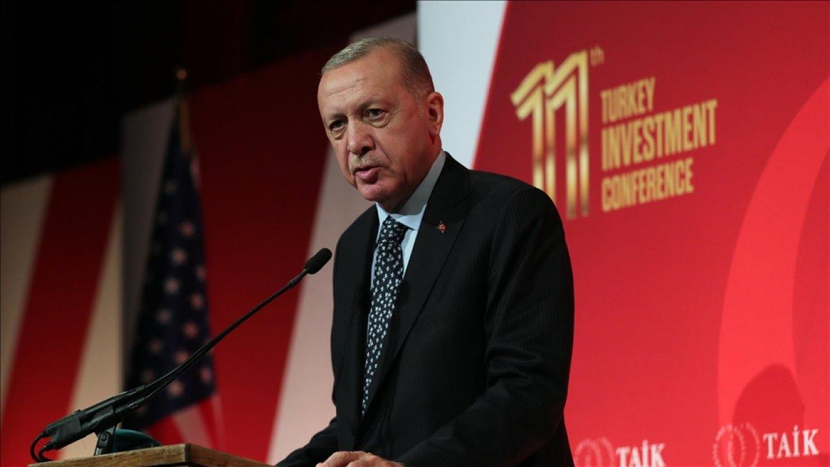 Cumhurbaşkanı Erdoğan, ABD'li yatırımcılara Türkiye'yi anlattı #1