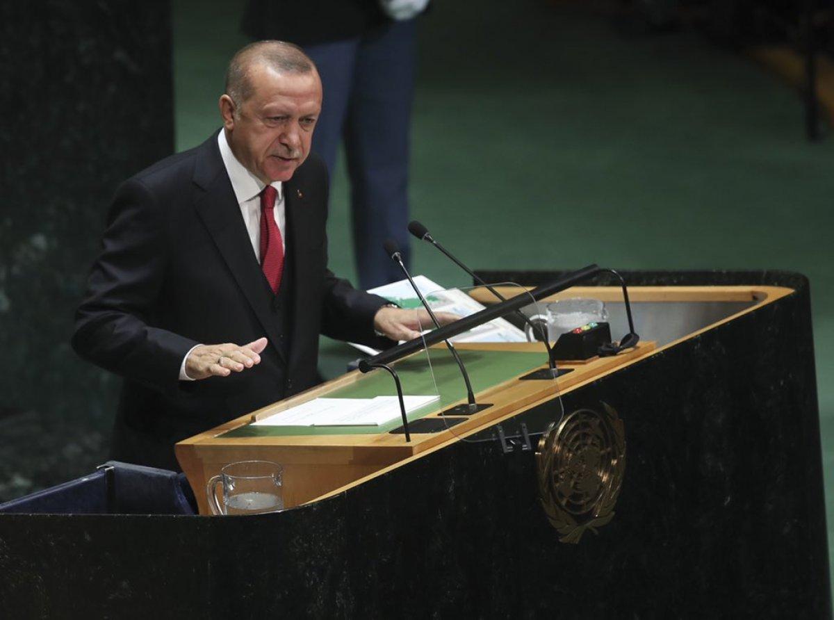 Cumhurbaşkanı Erdoğan, BM Genel Kurulu nda #1