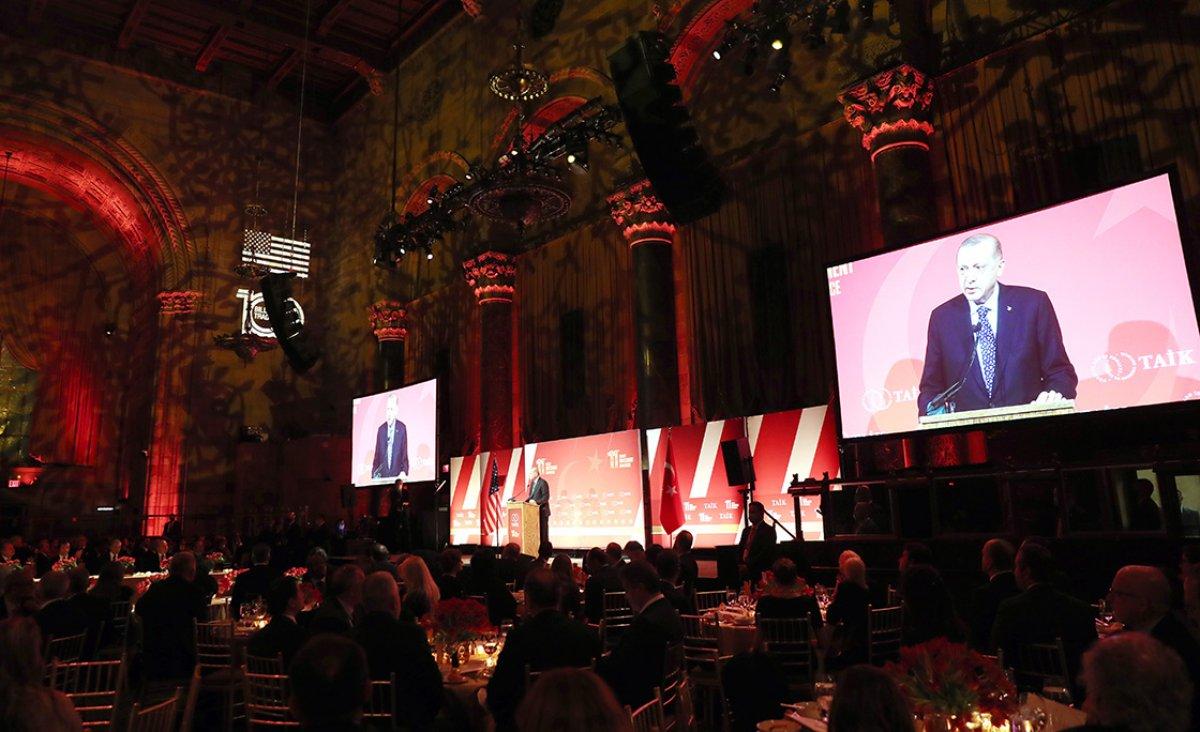 Cumhurbaşkanı Erdoğan, ABD'li yatırımcılara Türkiye'yi anlattı #2