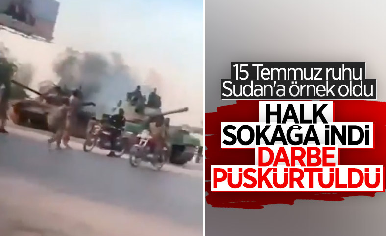 Türkiye'nin 15 Temmuz direnişi, Sudan halkına örnek oldu