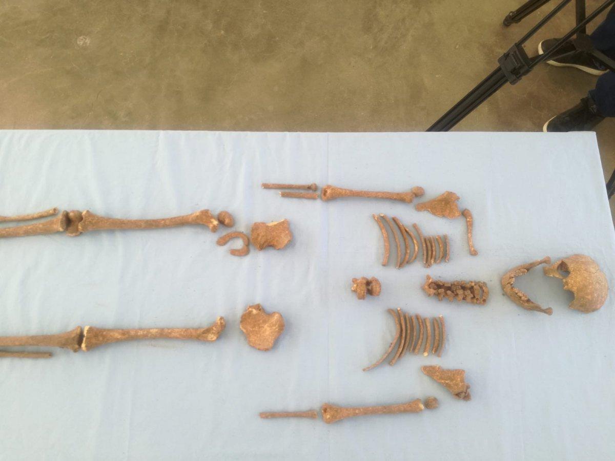 Kahramanmaraş ta 600 yıl öncesine ait olan çocuk iskeleti tespit edildi #3