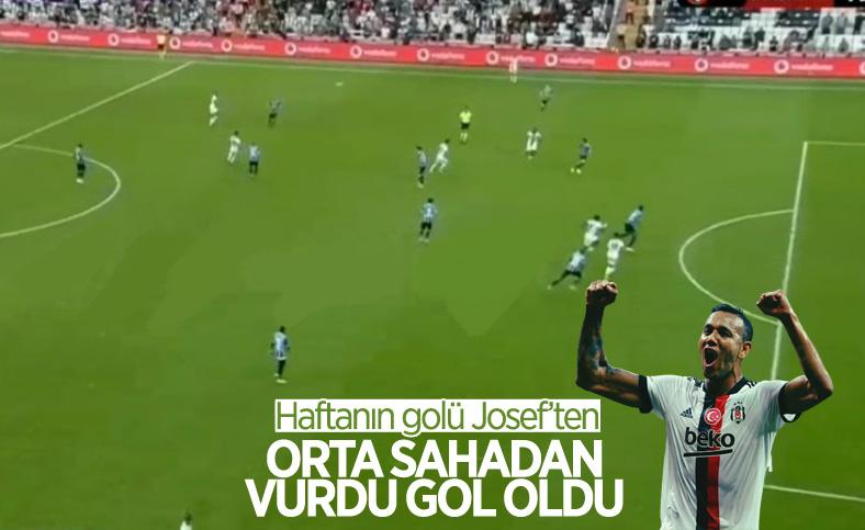 Josef orta sahadan gol attı