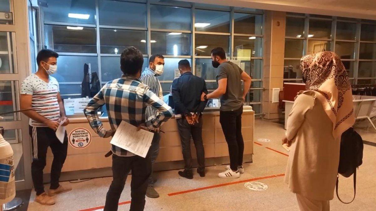 Kırıkkale de ehliyet sınavında akılalmaz kopya düzeneği #6