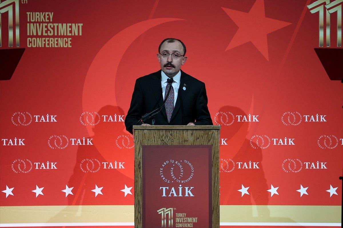 Mehmet Muş: ABD gibi stratejik ortaklarımızla ticaret ilişkilerimizi geliştirmeye devam edeceğiz #1