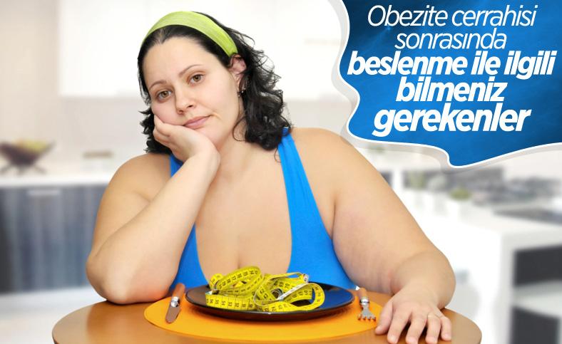 Obezite ameliyatından sonra nasıl beslenilmeli?
