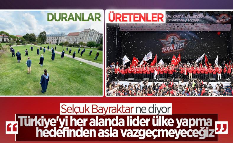 Selçuk Bayraktar'dan lider Türkiye vurgusu